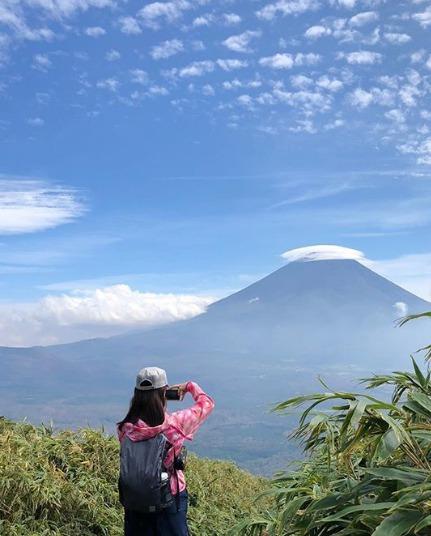 川田裕美とjiroの登山で不倫匂わせ画像1