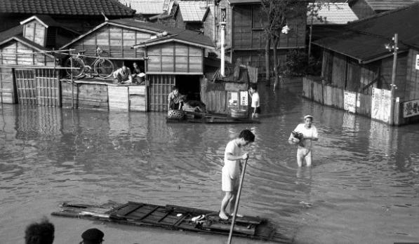 狩野川台風の被害状況1