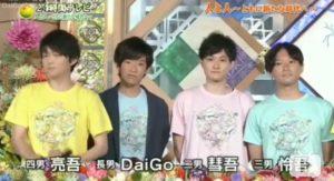 松丸亮吾の母親は病気・死因は乳がん!DaiGoと4兄弟で出演し後悔を語る
