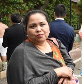 高安の母はフィリピンレストラン経営者