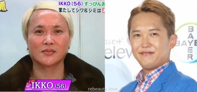 【画像】IKKOのすっぴんと金子貴俊が似てる?3