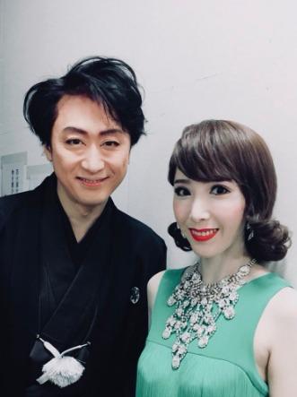 貴城けいと喜多村緑郎は結婚後も共演を果たす