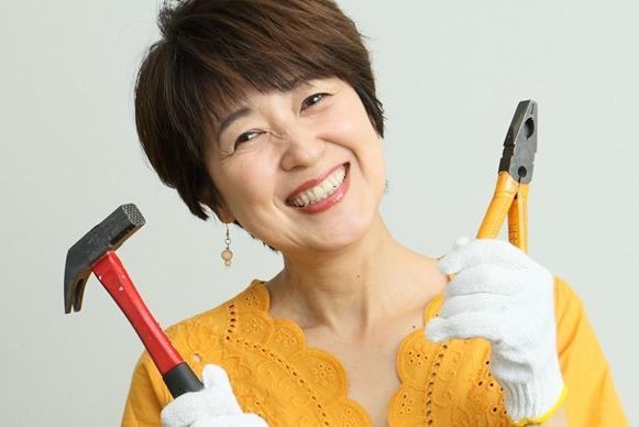 新田恵利は熱海の家を自分でリフォーム&DIY
