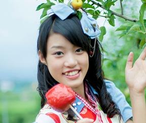 りんご娘に加入した頃の王林2