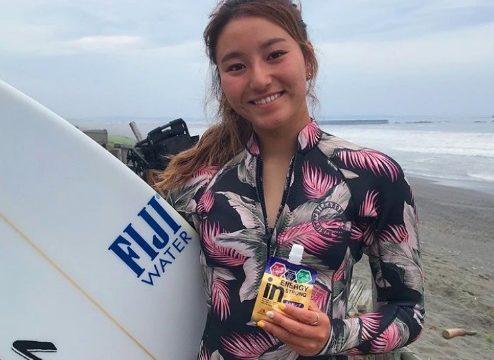 松田詩野がかわいい!現役女子高校生美女サーファーの画像をチェック!