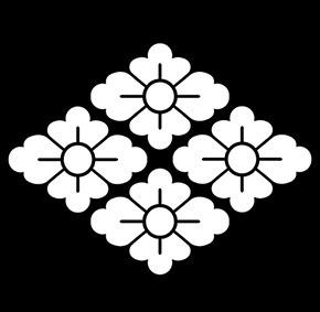 松たか子の総絞りにあった家紋は「高麗屋の四つ花菱」