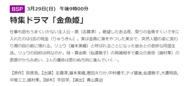 唐田えりか出演の「金魚姫」は放送予定・事務所には在籍2