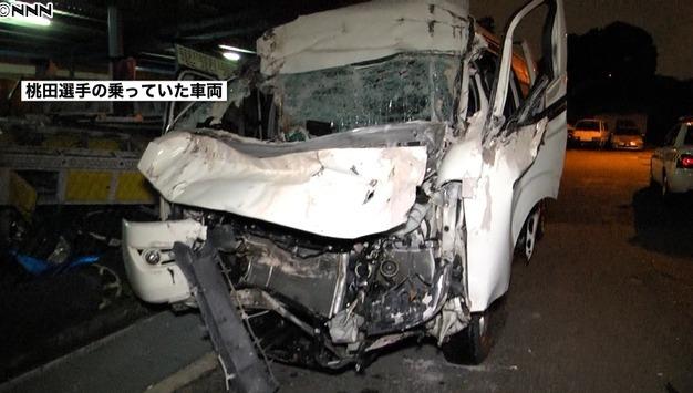 桃田賢斗の事故で運転手死亡の原因は?くっつき運転?2