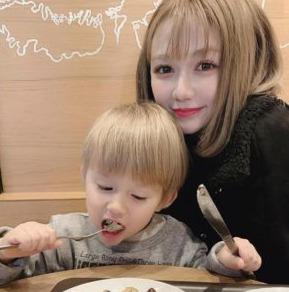 村重杏奈の弟:長男・しょうまくん