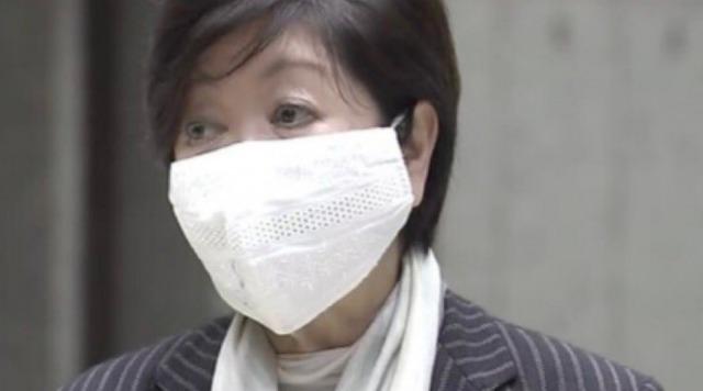 小池百合子都知事のマスク6:レース生地