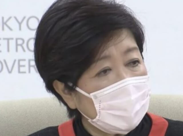 小池百合子都知事のマスクは大きい?小顔効果も狙える!3