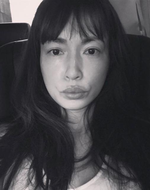 【画像】長谷川京子は唇お化け!?1