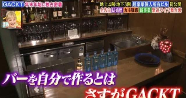 GACKTの日本の自宅:バーの画像3