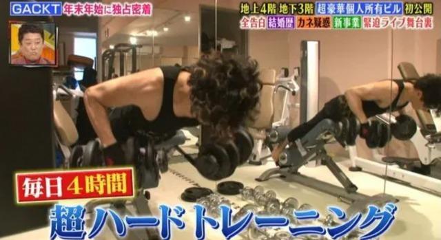 GACKTの日本の自宅:トレーニングルームの画像4
