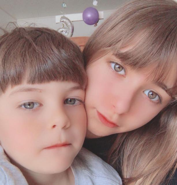 嵐莉菜の弟リオンの顔画像や年齢は?の画像1