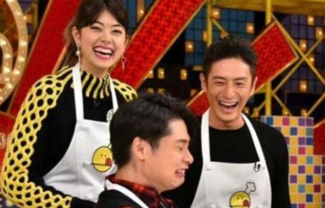 『新チューボーですよ』での伊勢谷友介さんと森星さん