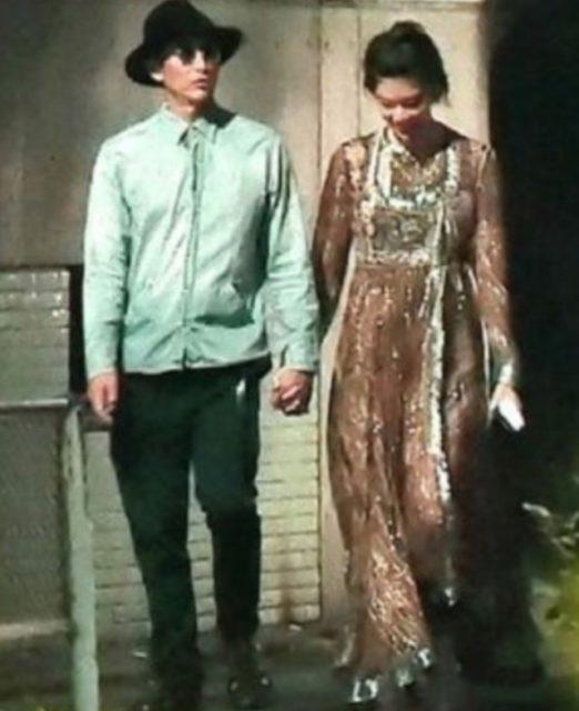 手つなぎデートをする伊勢谷友介さんと森星さん
