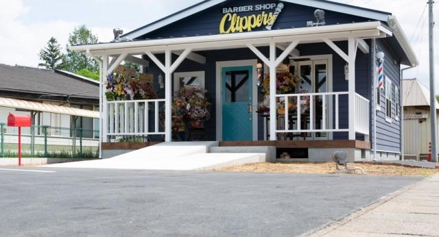 セイバー第1話ロケ地・撮影場所:水戸市バーバーショップ「クリッパーズ」の画像2
