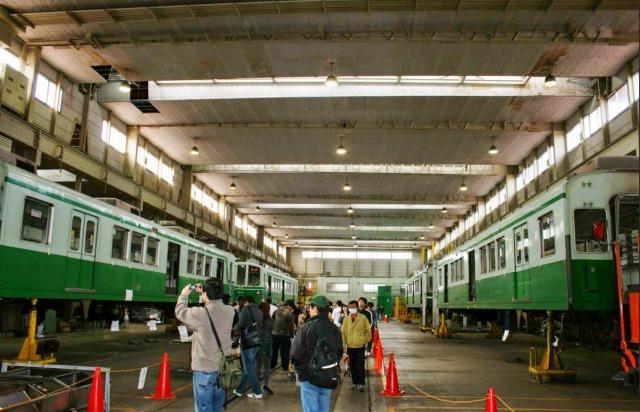 『スパイの妻』ロケ地・撮影場所①:神戸市営地下鉄名谷車輌基地の画像2
