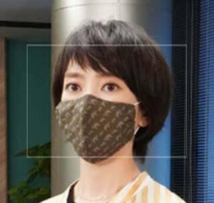 【画像】波瑠がドラマ『#リモラブ』で付けてたマスクがかわいい!