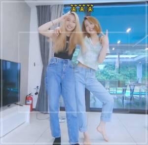 マユカの足の長さを他メンバーと画像で比較!の画像2