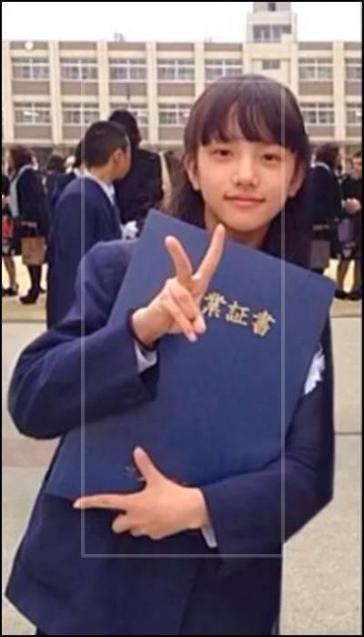清原果耶の出身小学校は『三津屋小学校』歌やダンスを磨いた時期
