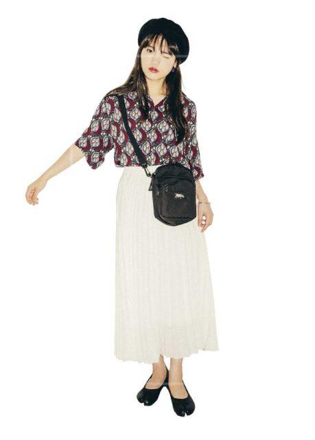 清原果耶はメンズ服や柄シャツが好き?